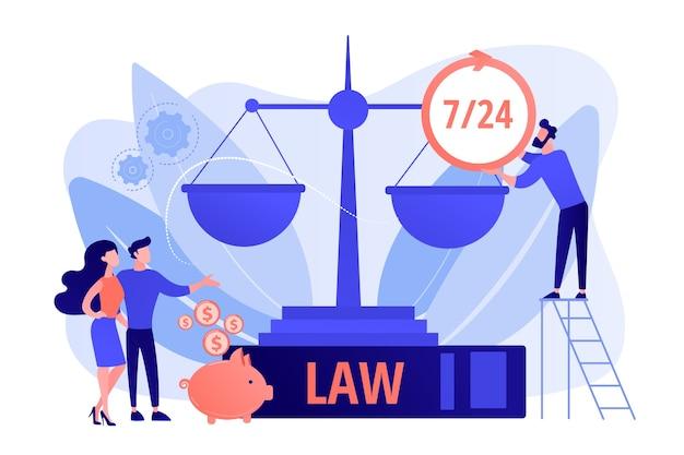 Firma prawnicza, doradztwo prawne i wsparcie. klienci notarialni