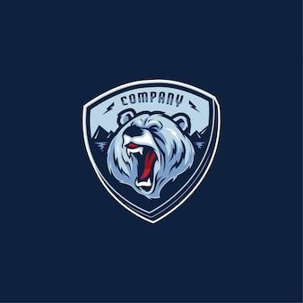 Firma z logo bear