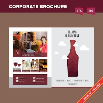 Firmowe napoje i napoje firmowa broszura