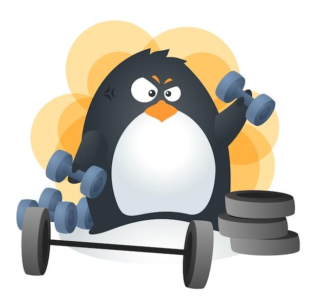 Fit penguin barbells