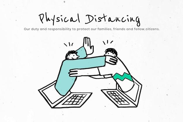 Fizyczna odległość w celu spłaszczenia krzywej. ten obraz jest częścią naszej współpracy z zespołem nauk behawioralnych w hill + knowlton strategies, aby ujawnić, które komunikaty covid-19 najlepiej rezonują z p