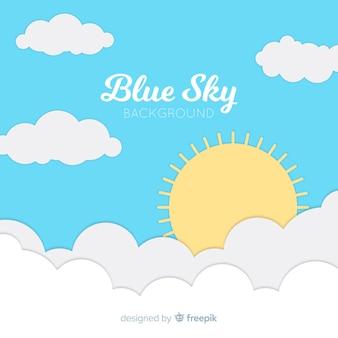 Fla tday sky background