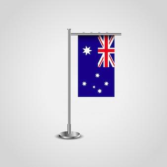 Flaga anglii w stylowy wektor