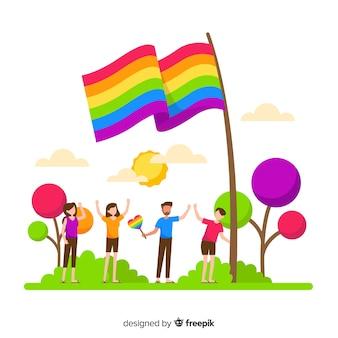 Flaga dnia dumy