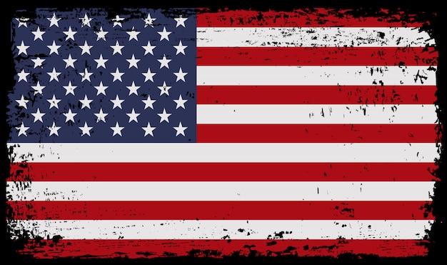 Flaga ilustracja stanów zjednoczonych