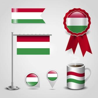 Flaga kraju węgry