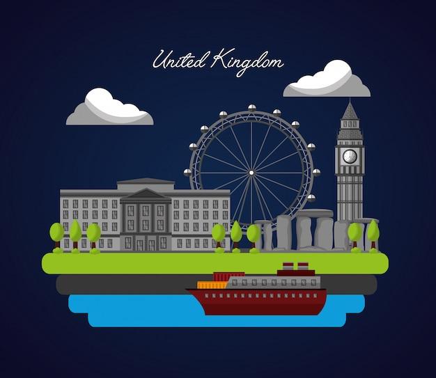 Flaga kraju zjednoczonego królestwa