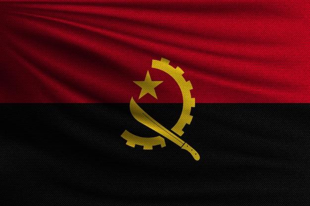 Flaga narodowa angoli.