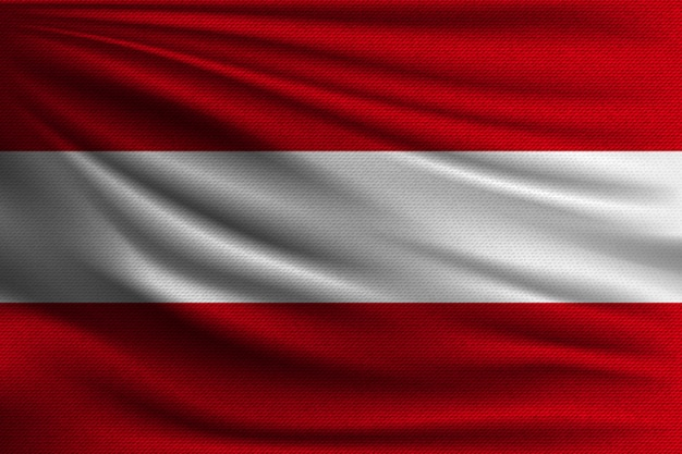 Flaga narodowa austrii.