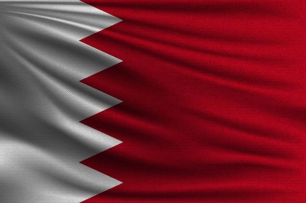 Flaga narodowa bahrajnu.