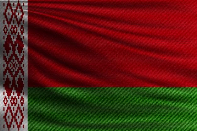 Flaga narodowa białorusi.