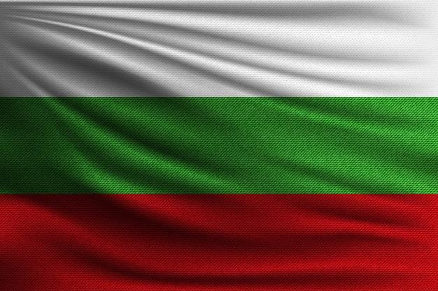Flaga narodowa bułgarii.