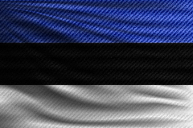 Flaga narodowa estonii.