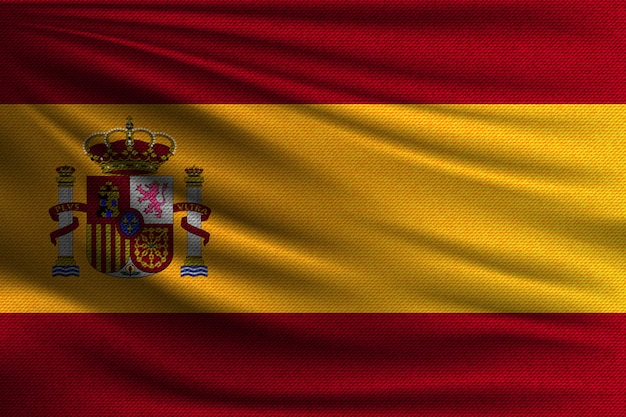Flaga narodowa hiszpanii.