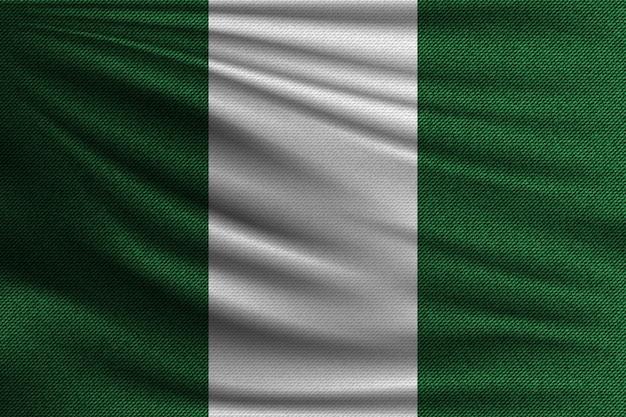 Flaga narodowa nigerii.