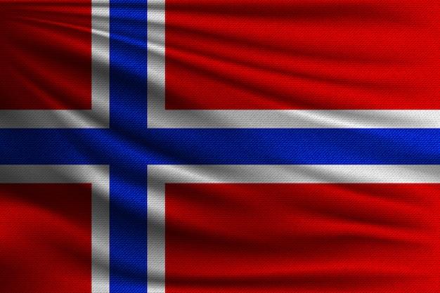 Flaga narodowa norwegii.