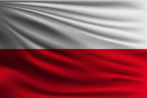Flaga narodowa polski.