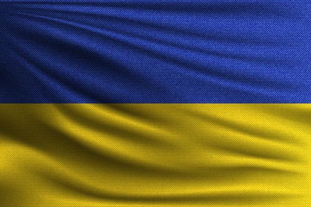 Flaga narodowa ukrainy.