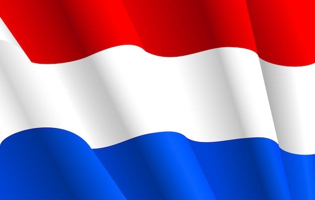 Flaga niderlandów