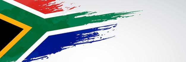 Flaga republiki południowej afryki banner