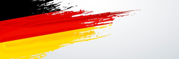 Flaga transparent niemiec
