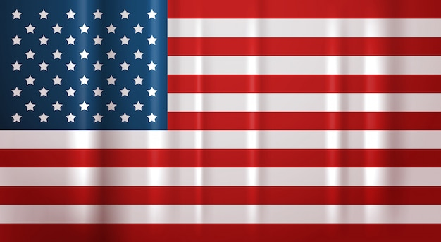 Flaga usa symbol narodowy stany zjednoczone banner