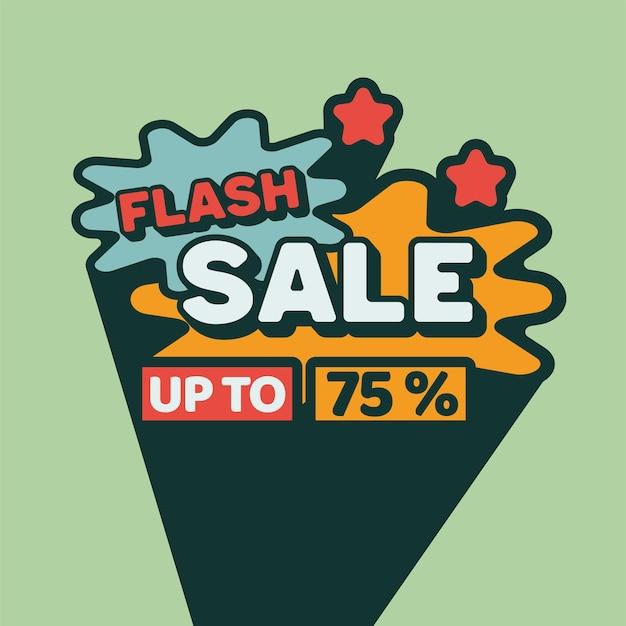 Flash sale tekst maskotki vintage retro classic
