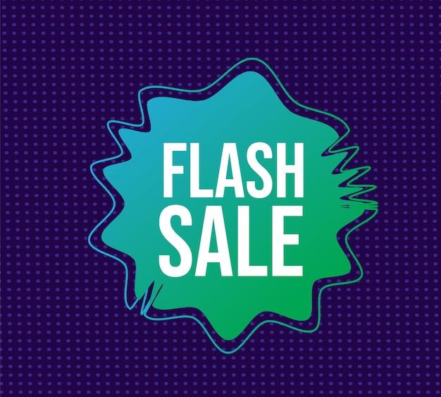 Flashowy baner sprzedaży
