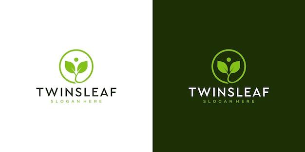 Flower line art logo deisgn