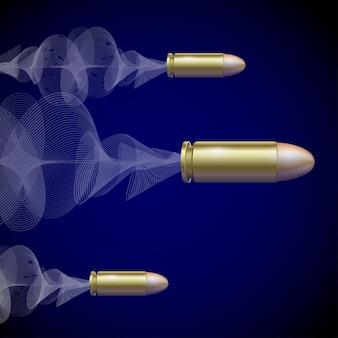 Fly pistol bullet.