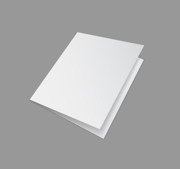 Folder papieru na szare ikony 3d