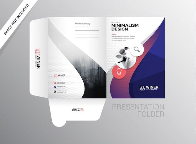 Folder prezentacji korporacyjnej
