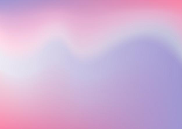Folia holograficzna, pastelowe tło gradientowe.