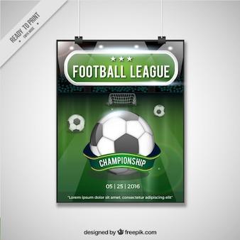 Football league szablonu