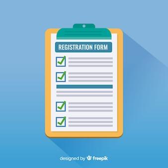 Formularz rejestracyjny