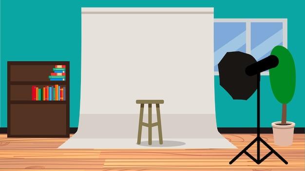 Fotografia studio bachground ilustracji wektorowych