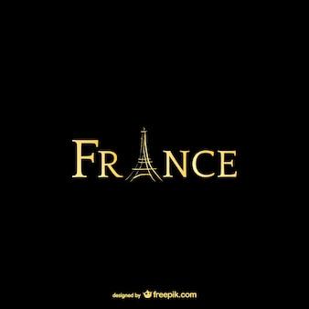 Francja i wieża eiffla