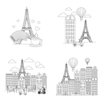 Francja karta paryżów
