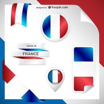 Francja naklejki