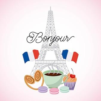 Francja paryż karta t