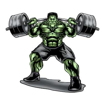 Frankensteins podnoszenie ciężarów