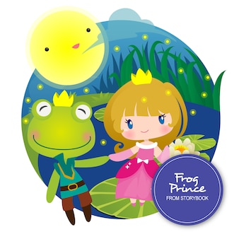 Frog prince storybook