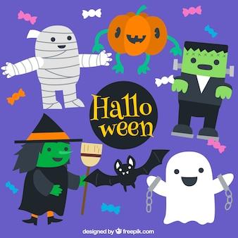 Funny halloween kostiumy