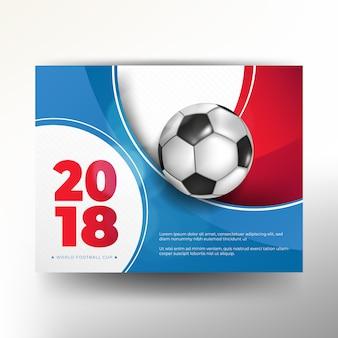 Futbol 2018 mistrzostwa świata filiżanki tła piłka nożna
