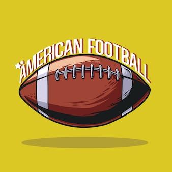 Futbol amerykański ilustracja