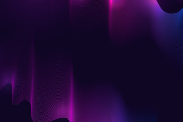 Futurystyczne ciemne faliste tło