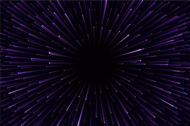 Futurystyczne tło światła prędkości