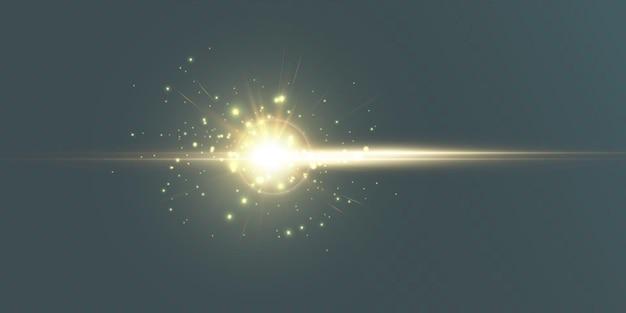 Futurystyczny efekt świetlny