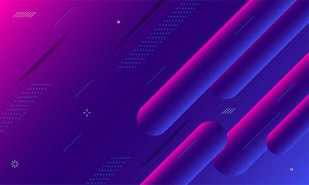 Futurystyczny gradient geometryczny kształt tła