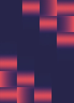 Futurystyczny projekt półtonów